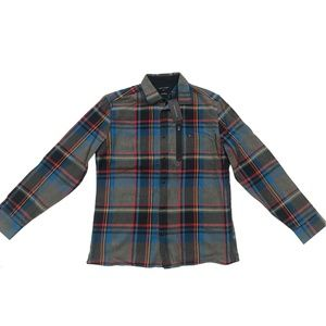 TOMMY HILFIGER Men's Lucas Plaid Shirt Jacket M